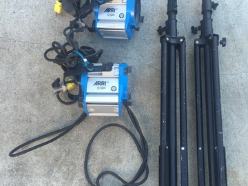 Rent: 2 Arri 650w Light Kit