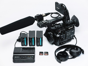 Rent: Sony PXW-FS5 with Sennheiser MKH-416 Mic and Metabones EF to