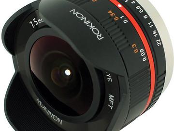 Rent: MFT Prime Rokinon 7.5mm F3.5 Fisheye