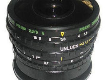 Rent: Belomo MS Peleng 3.5/8mm PL Fisheye Lens