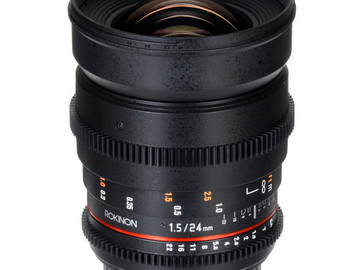 Rent: Rokinon 24mm T1.5 Cine ED AS IF UMC Lens