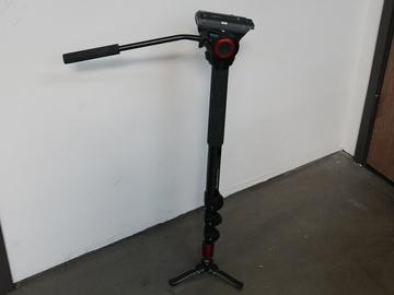 Rent: Manfrotto MVM500A Fluid Aluminum Video Monopod with Head