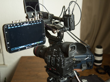 Rent: C300 Mark II (MKII) Light + Odyssey 4k RAW Recorder/Monitor