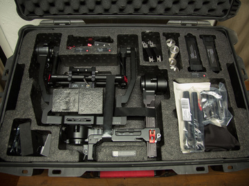 Rent: DJI Ronin+Thumb Control w/ Cinemilled Extensions + Ready Rig