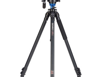 Rent: Benro A2573FS6 S6 Video Head and AL Flip Lock Legs Kit