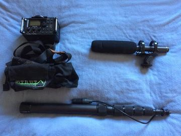 Rent: Tascam/Rode Boom sound package