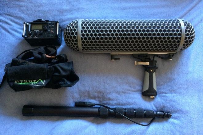 Rode NTG-3 /Tascam Audio Package