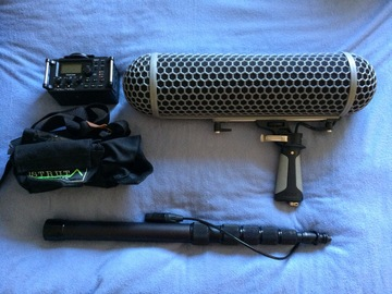 Rent: Rode NTG-3 /Tascam Audio Package