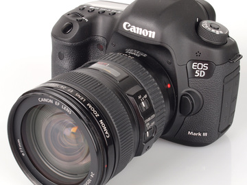 Canon 5D Mark III Package w/24-70mm and 70-200mm F/2.8