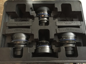 Rent: Zeiss CP2 T1.5 SuperSpeed Set (25mm, 35mm, 50mm, 85mm) PL