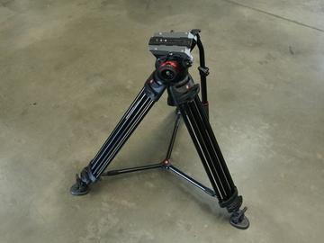 Rent: Manfrotto 504HD Head w/546B Pro Video Tripod