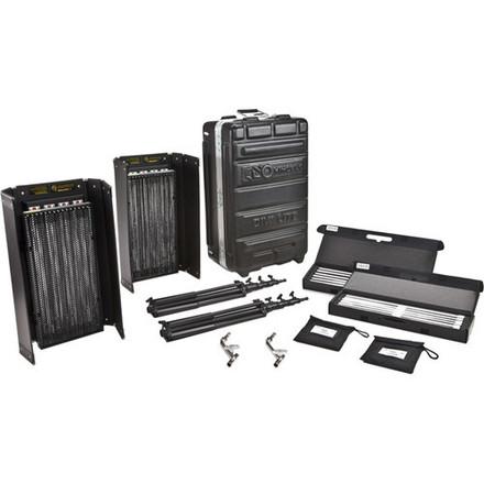 Kino Flo Diva-Lite 415 2-Light Kit w/ Case, stands, diff