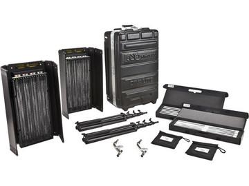 Rent: Kino Flo Diva-Lite 415 2-Light Kit w/ Case, stands, diff