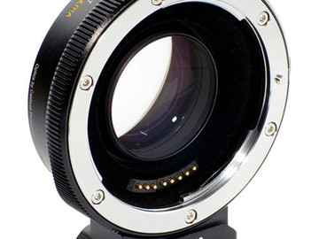 Rent: Metabones EF to E mount Speed Booster Ultra 0.71x Adapter