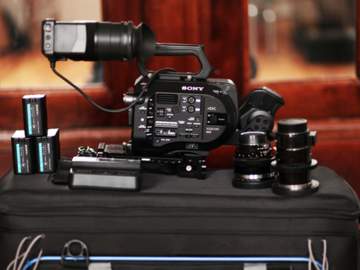 Rent: Sony FS7 Shooting Kit