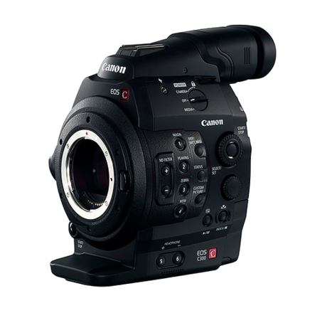 Canon C300 Camera (EF Mount)