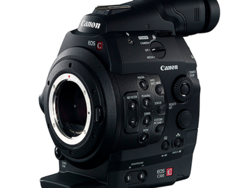 Rent: Canon C300 Camera (EF Mount)