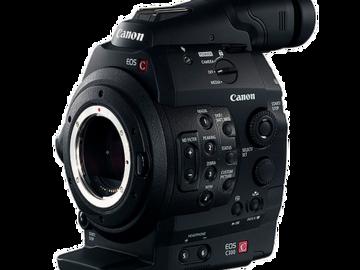 Rent: Canon C300 Camera (EF Mount)