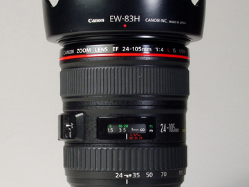 Rent: Canon L Series Lens Kit