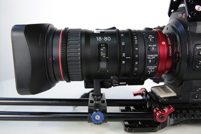 canon 18-80 F4 zoom lens with rocker