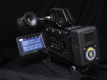Rent: New Blackmagic URSA Mini 4.6K EF Kit, With Accessories