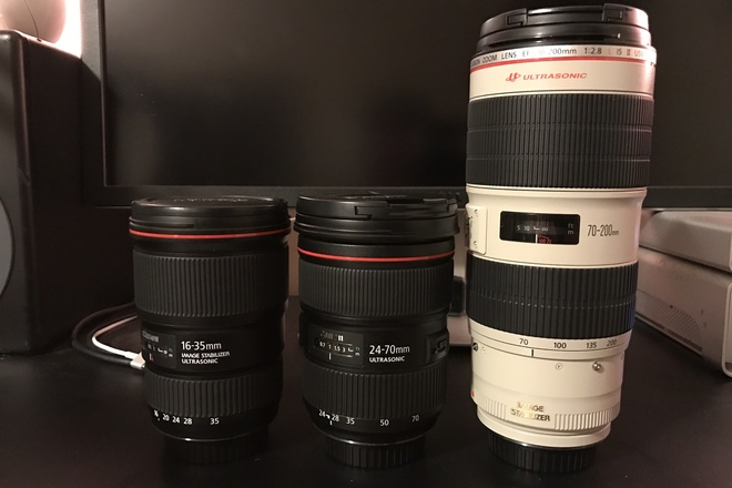 Canon L Series Set | 16-35 F4 | 24-70 F2.8 | 70-200 F2.8