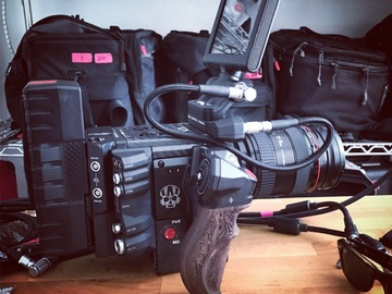 Rent: RED Weapon Helium 8K S35 – Basic Package