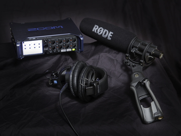 Rent: Zoom F8, NTG3 Shotgun, and Lavs Audio Package