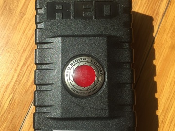 Red Dual Battery Charger W/ Red Brick