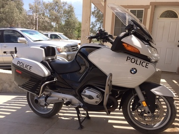 Rent: BMW Police Motorcycle CHP/LAPD/SHERIFF