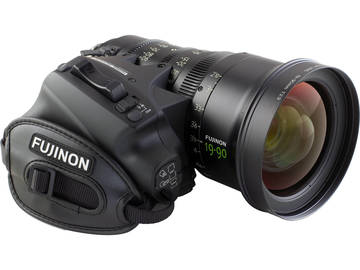 Rent: Fujinon Cabrio 19-90mm Zoom Lens with Servo