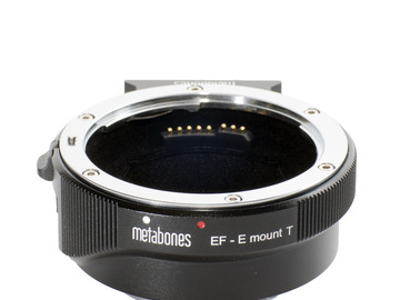Rent: Metabones Canon EF to Sony E-Mount Smart Adapter (Mark IV)