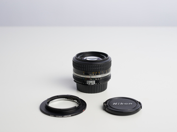 Rent: Nikon Nikkor Ai 50mm f1.4 Lens with Canon Adapter