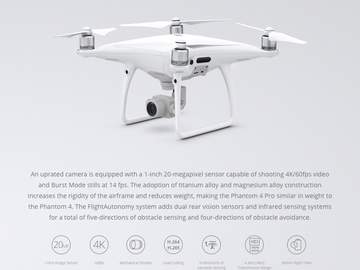 Rent: DJI Phantom 4 Pro + Part 107 Licensed Pilot