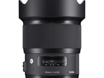 Rent: SIGMA Art Lenses-20mm/24mm/35mm/85mm (Nikon Mount)