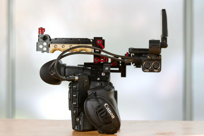 Canon c300 with Dual Pixel Auto Focus