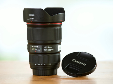 Rent: Canon EF 16-35mm F4L with Image Stabilization