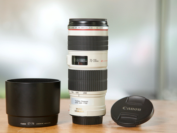 Rent: Canon EF 70-200mm F4L IS USM Lens