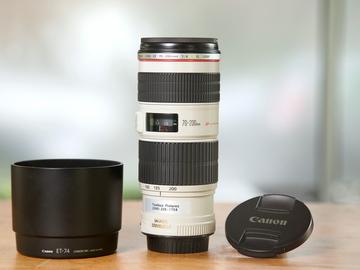 Rent: Canon EF 70-200mm F4L IS USM Lens