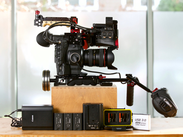 Rent: Canon c300 Handheld Rig Package