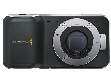 Rent: Blackmagic Pocket Cinema Camera w/ Nikon F Mount Speedbooste