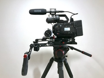 Rent: Blackmagic URSA Mini Pro  4.6k Premium  Package PL/EF