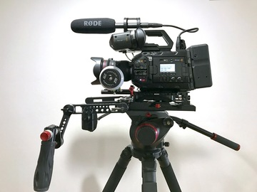 Rent: URSA Mini Pro Premium Package 4.6k EF/PL + 3 Canon L Zooms