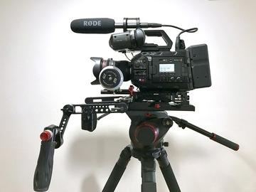 Rent: URSA Mini Pro Premium Package 4.6k EF/PL + 3 Canon L Zooms
