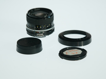 Rent: Nikon AIS F Mount 24mm 2.8 Prime lens