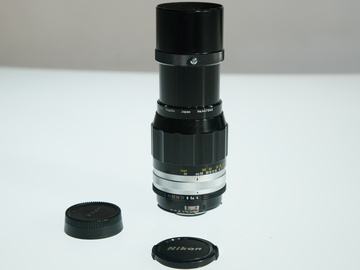 Rent: Nikon AIS F Mount 200mm 4.0 Prime lens