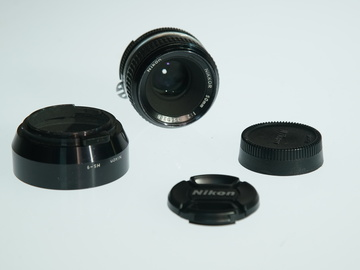 Rent: Nikon AIS F Mount 50mm 2.0 Prime lens