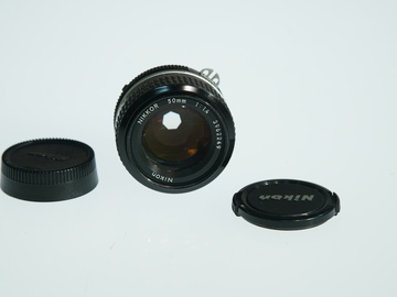 Rent: Nikon AIS F Mount 50mm 1.4 Prime lens