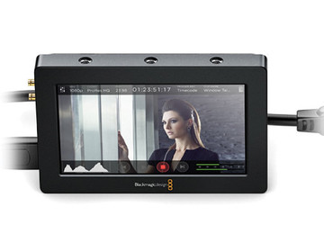 "Rent: Blackmagic Design Video Assist HDMI/6G-SDI Recorder and 5"" M"