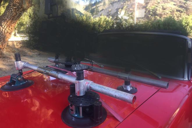 Car Mount - Hood